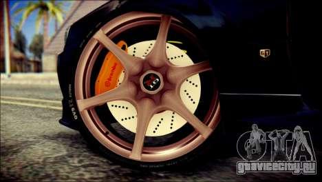 Nissan Skyline GTR V Spec II v2 для GTA San Andreas вид сзади слева