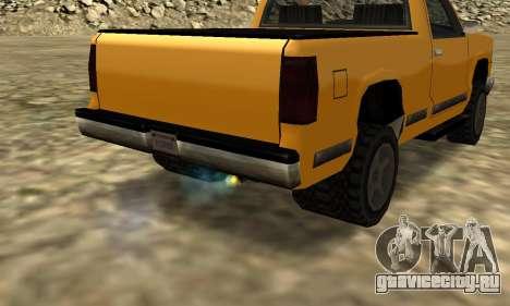 PS2 Yosemite для GTA San Andreas вид изнутри