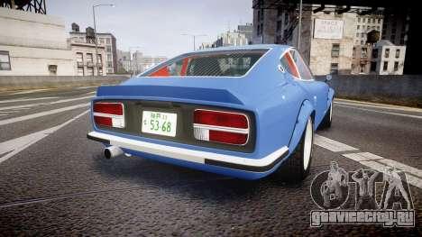 Nissan Fairlady Devil Z для GTA 4 вид сзади слева