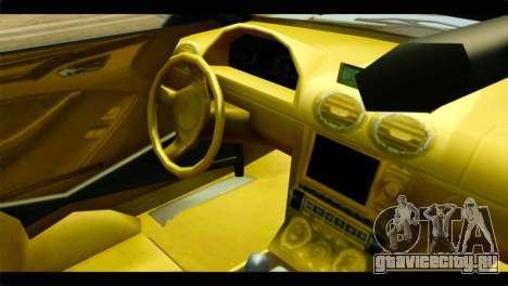 GTA 5 Ocelot F620 IVF для GTA San Andreas вид справа