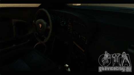 GTA 4 Habanero для GTA San Andreas вид сзади слева