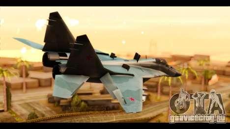 MIG-29 Fulcrum для GTA San Andreas вид слева