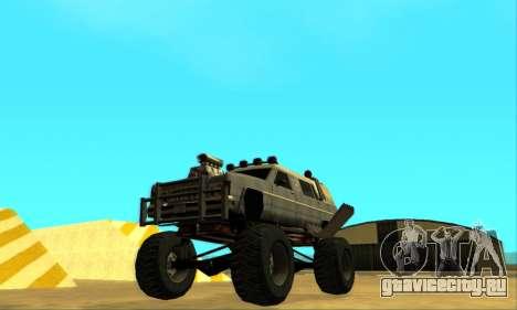Hellish Extreme CripVoz RomeRo 2015 для GTA San Andreas колёса