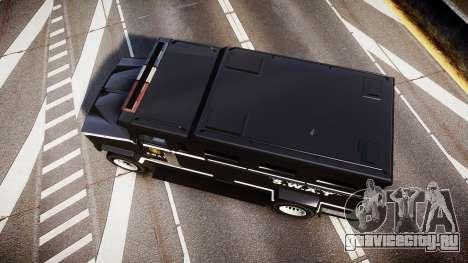 GTA V Brute Police Riot [ELS] skin 5 для GTA 4 вид справа