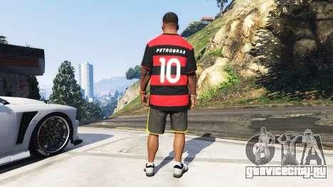 Flamengo T-Shirt - Camisa do Flamengo de 2000-01 для GTA 5