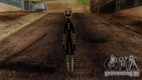 Puppet from Five Nights at Freddy 2 для GTA San Andreas