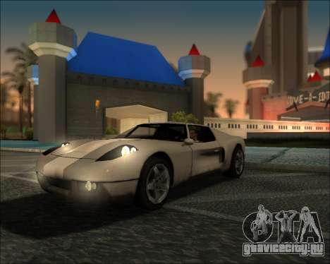 ENB Kiseki v1 для GTA San Andreas третий скриншот