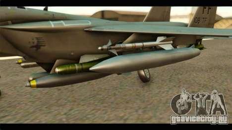 McDonnell Douglas F-15E Strike Eagle для GTA San Andreas вид справа