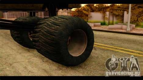 Monster Esperanto для GTA San Andreas вид сзади слева