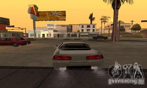 Infernus BanDit для GTA San Andreas вид сзади слева