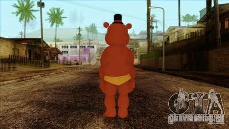 Toy Freddy from Five Nights at Freddy 2 для GTA San Andreas второй скриншот