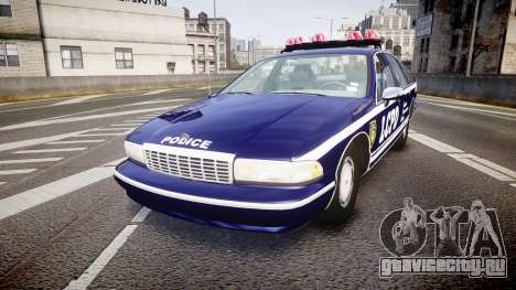 Chevrolet Caprice 1993 LCPD WH Auxiliary [ELS] для GTA 4
