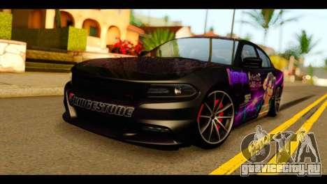Dodge Charger RT 2015 Hestia для GTA San Andreas