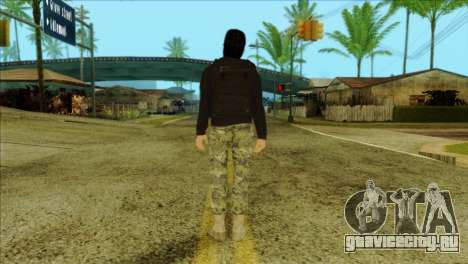 Sicario Skin v10 для GTA San Andreas второй скриншот