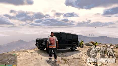 Футболка для Франклина - Физрук для GTA 5 четвертый скриншот