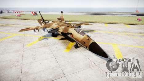 Су-47 Беркут desert для GTA 4