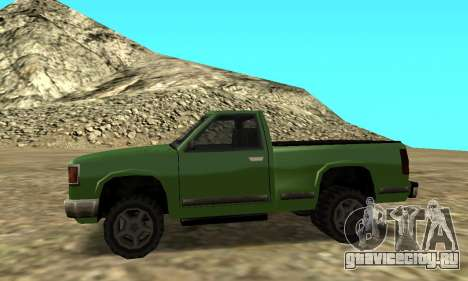 PS2 Yosemite для GTA San Andreas вид сзади слева