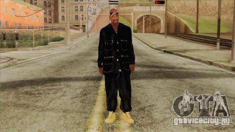 Tupac Shakur Skin v1 для GTA San Andreas