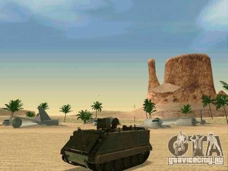 Бронетранспортёр M113 для GTA San Andreas вид сзади слева
