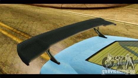 GTA 5 Ocelot F620 IVF для GTA San Andreas вид сзади