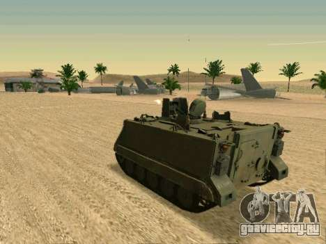 Бронетранспортёр M113 для GTA San Andreas вид справа