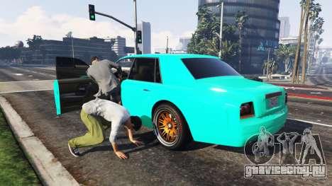 Угон автомобиля для GTA 5 второй скриншот