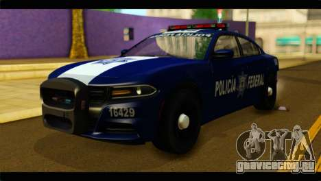 Dodge Charger 2015 Mexican Police для GTA San Andreas