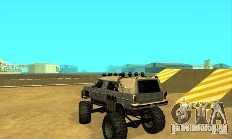 Hellish Extreme CripVoz RomeRo 2015 для GTA San Andreas вид снизу