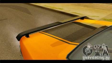 GTA 5 Declasse Sabre GT Turbo IVF для GTA San Andreas вид сзади