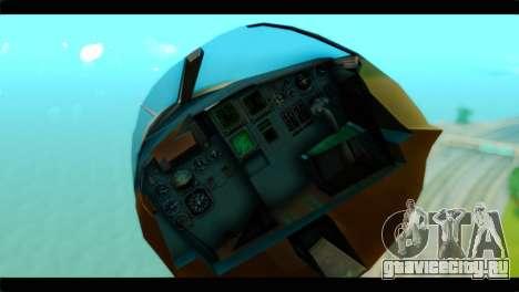 Sukhoi SU-34 IRIAF для GTA San Andreas вид сзади