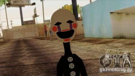 Puppet from Five Nights at Freddy 2 для GTA San Andreas третий скриншот