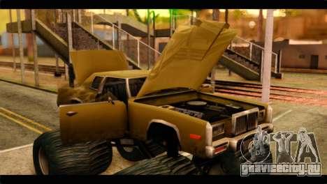 Monster Esperanto для GTA San Andreas вид сзади