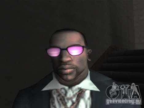 Новые очки для CJ для GTA San Andreas десятый скриншот