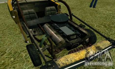 Dodge Charger RT HL2 EP2 для GTA San Andreas вид сзади