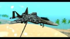 F-22 Raptor Starscream для GTA San Andreas