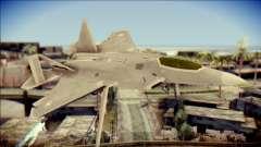 F-22 Gryphus, Falco and Antares для GTA San Andreas