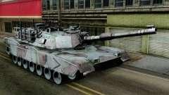 M1A2 Abrams Woodland Blue Camo