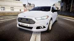 Ford Fusion Estate 2014 Unmarked Police [ELS] для GTA 4