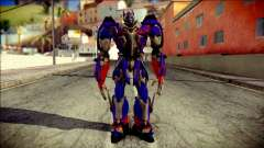 Optimus Prime Skin from Transformers