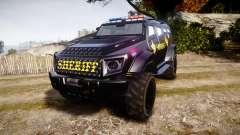 GTA V HVY Insurgent Pick-Up SWAT [ELS] для GTA 4