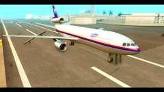 DC-10-30 PLL LOT для GTA San Andreas