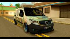 Mercedes-Benz Citan Stance для GTA San Andreas