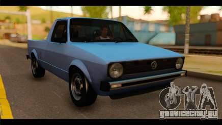 Volkswagen Caddy Mk1 Stock для GTA San Andreas