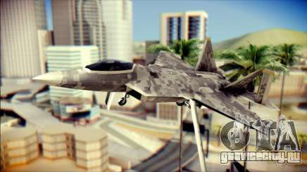 F-22 Raptor Digital Camo для GTA San Andreas