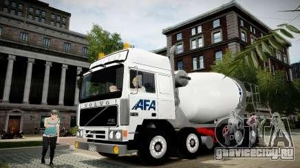 Volvo F10 cement truck для GTA 4