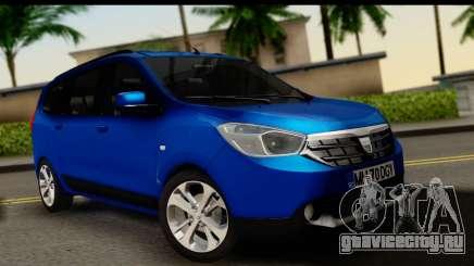 Dacia Lodgy 2014 для GTA San Andreas