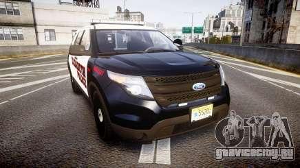 Ford Explorer 2011 Elizabeth Police [ELS] v2 для GTA 4