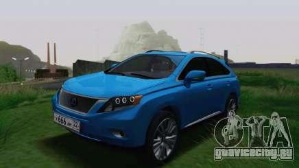 Lexus RX450h v3 для GTA San Andreas