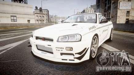 Nissan Skyline R34 GT-R Mines для GTA 4