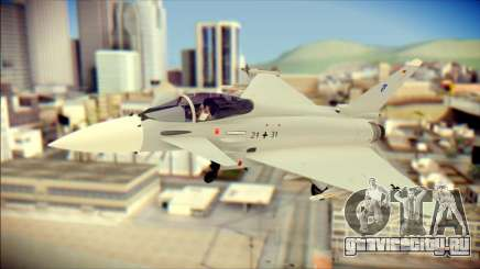 EuroFighter Typhoon 2000 Luftwaffe для GTA San Andreas